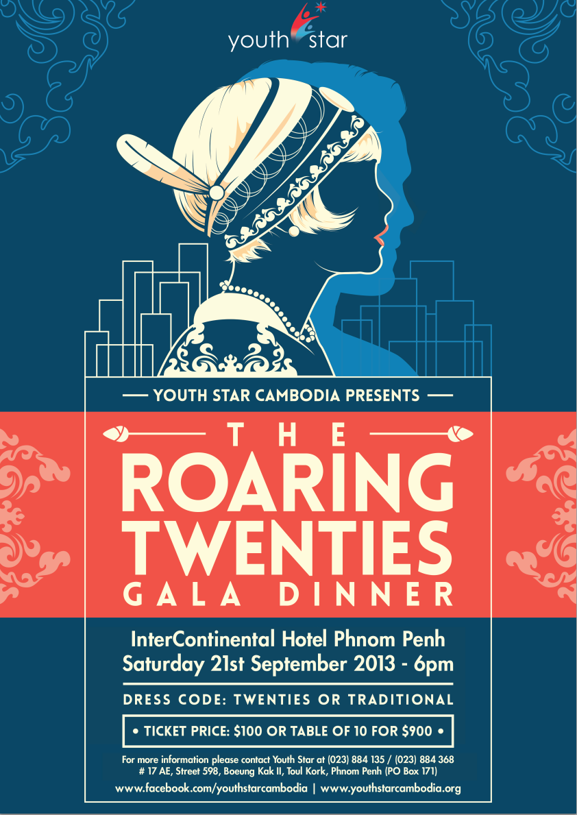 2013 Gala Dinner: The Roaring Twenties – Youth Star Cambodia
